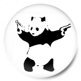 panda banksy