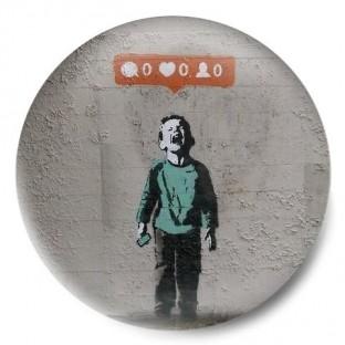 redes sociales banksy