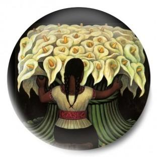 vendedora de flores diego rivera