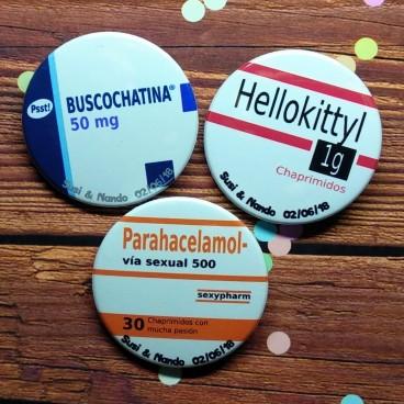 """Pack """"Medicamentos boda 2"""""""