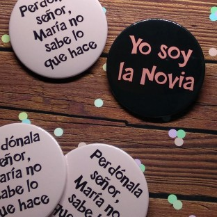 chapas despedida soltera perdonala senor