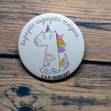 Espejito mágico unicornio